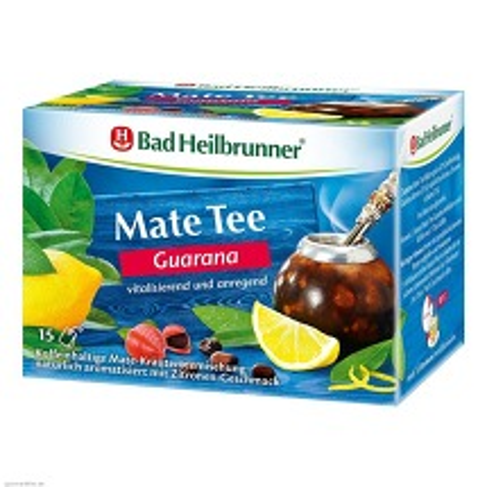 Bad Heilbrunner Tee Guarana Mate Kräuterpower