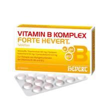 Produktbild Vitamin B Komplex forte Hevert Tabletten