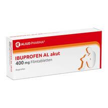 Produktbild Ibuprofen AL akut 400 mg Filmtabletten