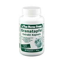 Produktbild Granatapfel Extrakt 500 mg Kapseln