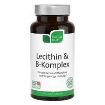 Produktbild Nicapur Lecithin B Komplex Kapseln