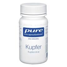 Produktbild Pure Encapsulations Kupfer Kupfercitrat Kapseln
