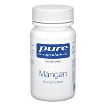 Produktbild Pure Encapsulations Mangan Mangancitrat Kapseln