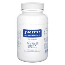 Produktbild Pure Encapsulations Mineral 650A Kapseln