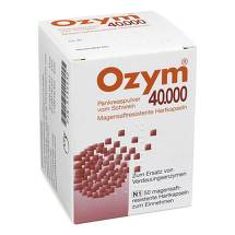 Ozym 40.000 Hartkapseln magensaftresistent