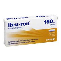 Produktbild IB-U-Ron 150 mg Suppositorien
