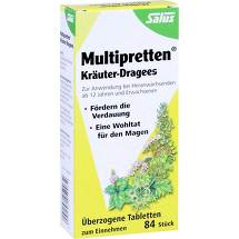 Produktbild Multipretten Kräuter-Dragees Salus