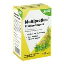 Multipretten Kräuter-Dragees Salus