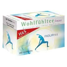 Produktbild H&S Wohlfühltee feminin Figurtee Filterbeutel