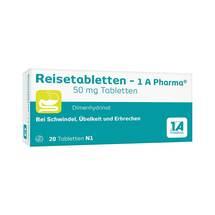 Produktbild Reisetabletten 1A Pharma
