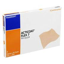 Produktbild Acticoat Flex 7 10x12,5 cm Verband
