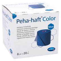 Produktbild Peha Haft Color Fixierbinde 8cmx20m blau