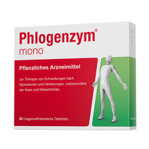 Produktbild Phlogenzym mono magensaftresistente Tabletten