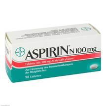 Produktbild Aspirin N 100 mg Tabletten