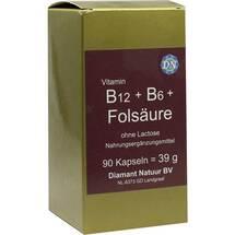 Produktbild B12 + B6 + Folsäure ohne Lactose Kapseln