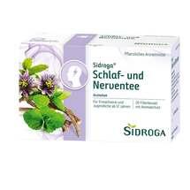 Produktbild Sidroga Schlaf- und Nerventee Filterbeutel