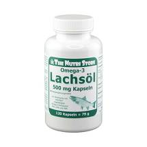 Produktbild Omega 3 Lachsöl 500 mg Kapseln