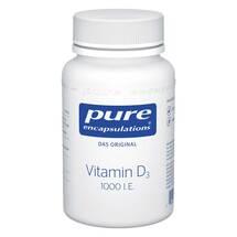 Produktbild Pure Encapsulations Vitamin D3 1000 I.E. Kapseln