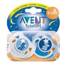 Avent Schnuller für die Nacht 6 - 18 Mon.BPA-frei