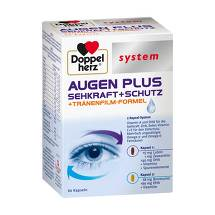 Doppelherz system Augen plus Sehkraft+Schutz Kapseln