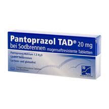 Pantoprazol TAD 20 mg b.Sodbrenn. magensaftresistent Tabletten