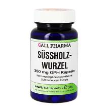 Produktbild Süssholzwurzel 350 mg GPH Kapseln