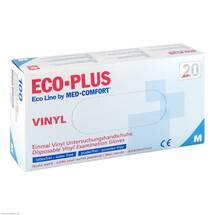Vinyl Einweg-Handschuhe Ecoline Plus Größe M