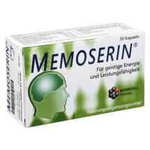 Produktbild Memoserin Kapseln