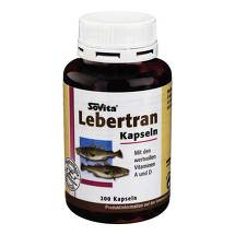Produktbild Lebertran Kapseln 500 mg
