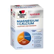 Doppelherz system Magnesium+Calcium+Kupfer und Mangan Tabletten