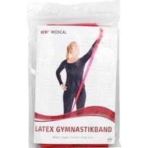 Produktbild RFM Gymnastikband Latex mittel 2,5m rot