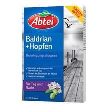Produktbild Abtei Baldrian Hopfen Beruhigungs Dragees