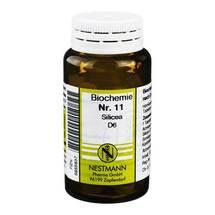 Produktbild Biochemie 11 Silicea D 6 Tabletten