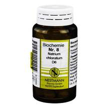 Produktbild Biochemie 8 Natrium chloratum D 6 Tabletten