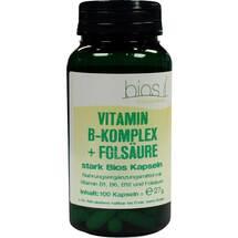 Produktbild Vitamin B Komplex + Folsäure stark Bios Kapseln