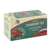 Produktbild Cranberry Tee Filterbeutel