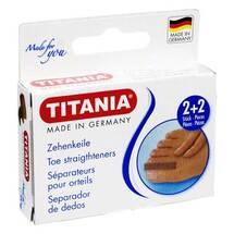 Zehenkeile 2 klein und 2 groß Titania