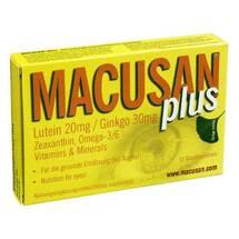 Produktbild Macusan plus Tabletten