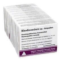 Produktbild Rhodizonsäure cp.Ampullen Injektionslösung