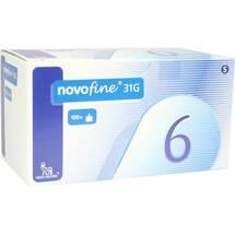 Produktbild Novofine 6 Kanülen 0,25x6 mm
