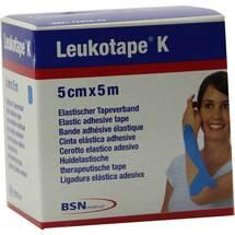 Produktbild Leukotape K 5cm hellblau