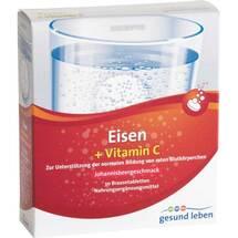 Produktbild Gesund Leben Eisen 14 mg + Vitamin C 160 mg Br.-Tab.