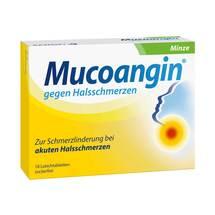 Produktbild Mucoangin Minze 20 mg Lutschtabletten