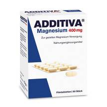 Produktbild Additiva Magnesium 400 mg Filmtabletten