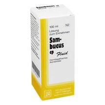 Sambucus CP Fluid Lösung