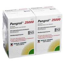 Produktbild Pangrol 25000 Hartkapseln mit magensaftresistent überzogene Pell.