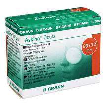 Produktbild Askina Ocula Augenkompr. 56x