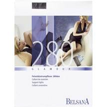 Belsana glamour AT 280 d.lang M nachtblau mit Spitze