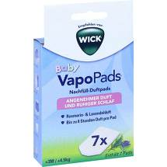 Produktbild WICK Vapopads 7 Rosemarin Lavendel Pads WBR7