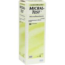 Micral Test II Teststreifen